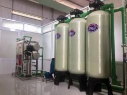 Dây chuyền lọc nước đóng chai 3000L