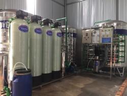 Dây chuyền sản xuất nước đóng chai 1000L/h