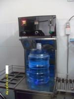 Máy co màng bình nước bán tự động